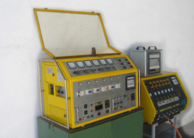 Thermal resistance treatment machines