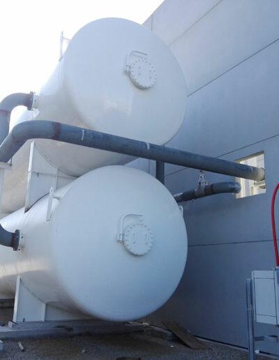 Montaje planta generación de nitrógeno