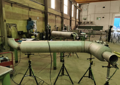 Jacketed spool for LNG propulsion