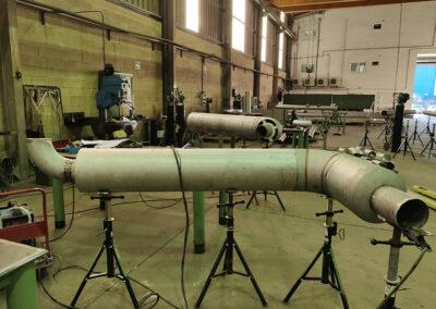 Spool encamisado para propulsión con GNL