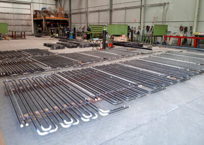 Manufacture of coils pipes
