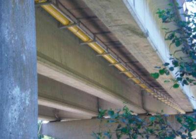 Tubería paso puente