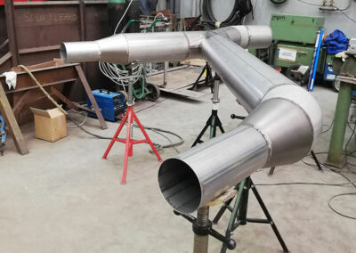Prefabricated tin lines