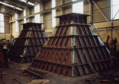 Manufacture of coal hoppers