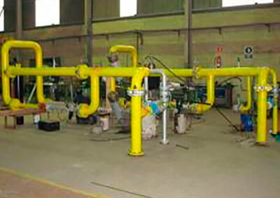 Manufacture of regulation and measurement station